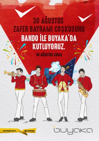 30 Ağustos Bandosu  Buyaka'da