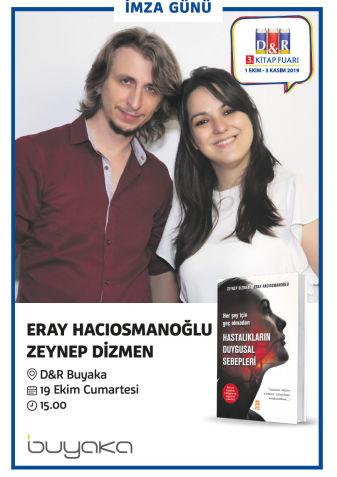 Eray Hacıosmanoğlu & Zeynep Dizmen İmza Günü