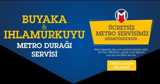 Buyaka Metro Servisi